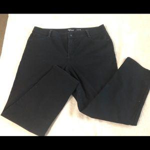 Style & co. Black denim jeans
